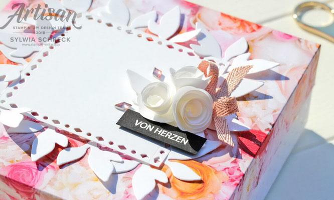 Blütenzauber-Geschenkebox mit Stampin Up
