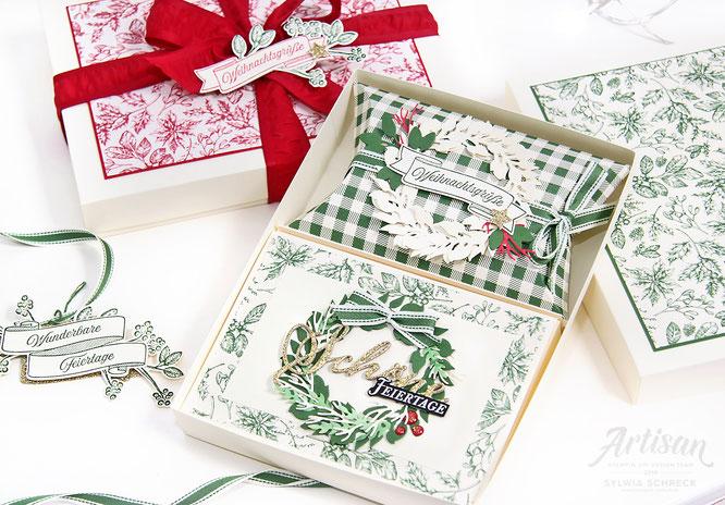 Geschenkset - Landhausweihnacht-Stampin up