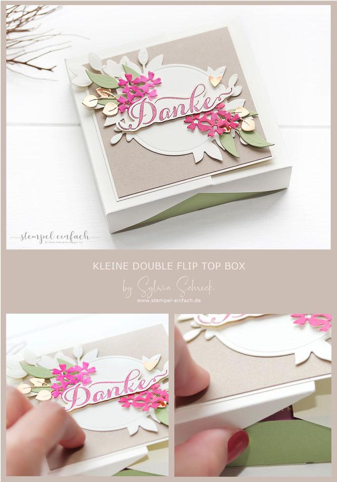 Double Flip Top Box-Verpackung