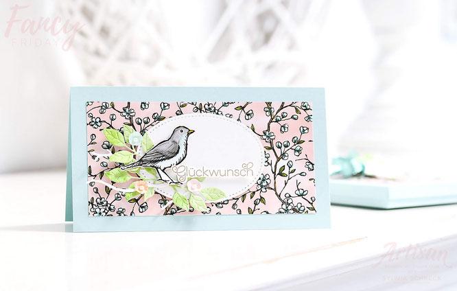 designerpapier vogelgarten stampin up