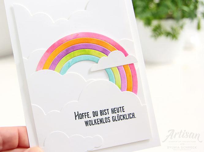 Geburtstagskarte-Regenbogen-Stampinup