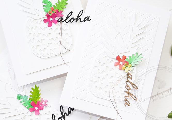 aloha-karten-sylwia schreck for stampin up