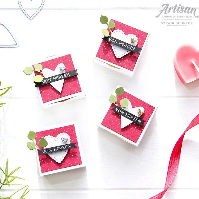 Valentinstag-Stampin up