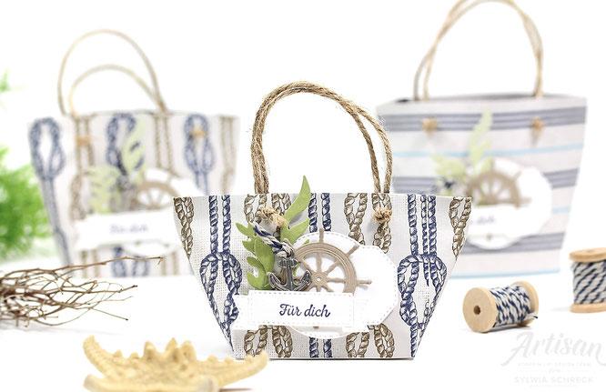 Setz die Segel - Strandtaschen Verpackungen - Stampin Up