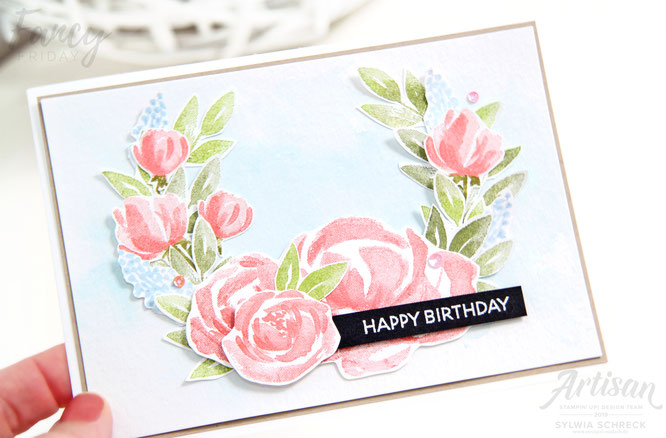 Karte mit Beautiful Friendship Stampin Up