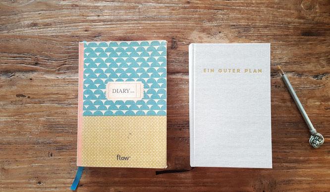 Jahreswechsel; Welcome 2017; Neuer Kalender; Neue Routinen; Flow Diary; Ein guter Plan; RandomReflections; live4happiness2day; bloggingforinspiration