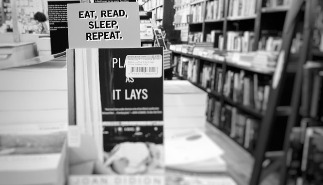 Eat, read, sleep, repeat; Bookstore; Buchladen; Strand Bookstore; Manhattan, New York, NYC; live4happiness2day; bloggingforinspiration