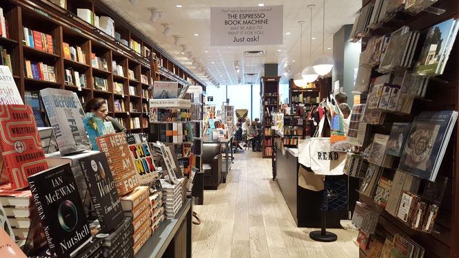 Shakespeare & Co.; Buchladen; Bookstore; Bookshop; NYC; New York City; Espresso Book Machine; live4happiness2day; bloggingforinspiration