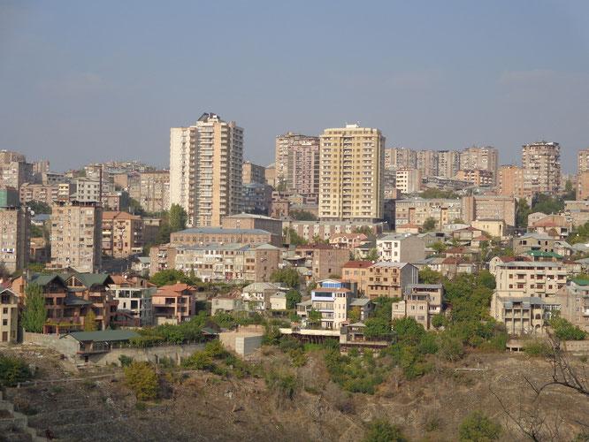 Երևանը Ծիծեռնակաբերդից: Նկարը՝ անձնական