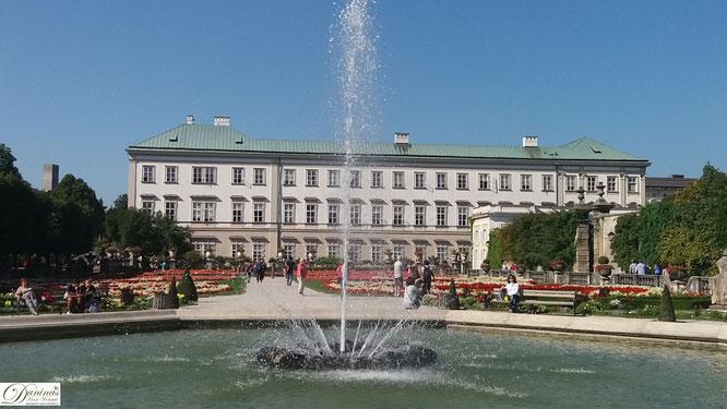 Salzburg, Schloss Mirabell ist ein Liebesgeschenk des Fürsterzbischofs Wolf Dietrich an seine Geliebte Salome Alt
