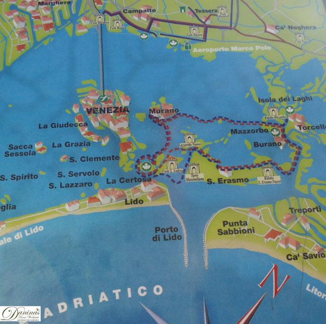 Venedigs Inseln - Murano, Burano, Lido, S. Erasmo