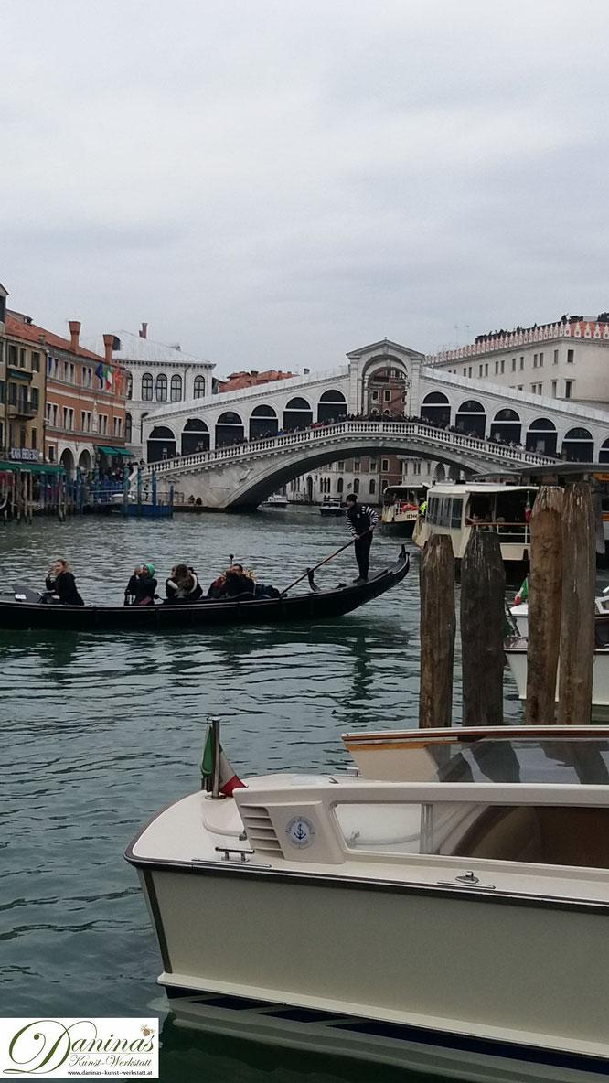 Venedig Rialtobrücke & Canal Grande