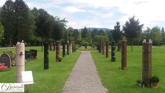 Urnenstellen am Salzburger Kommunalfriedhof. Der wunderschöne Salzburger Kommunalfriedhof ist einen Besuch Wert