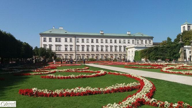 Salzburg, Schloss Mirabell und Mirabellgarten