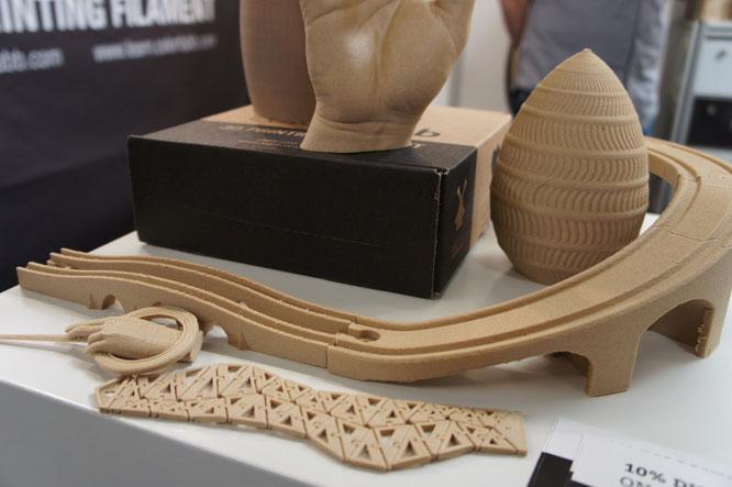 colorFabb Woodfill 3D Drucker 3Druckbar