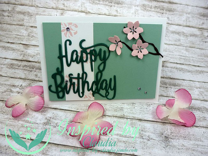 Stampin' Up! Framelits Happy Birthday