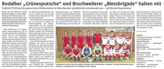 Pirmasenser Zeitung 07.Januar 2013