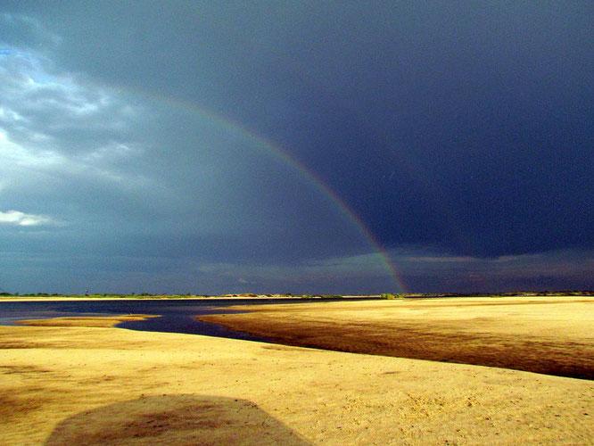 Gewitter am Sambesi, aber geregnet hat es wieder nicht