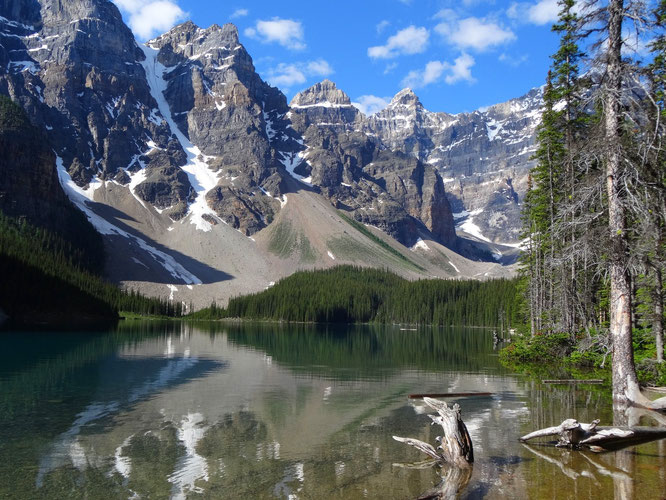 Der Lake Moraine