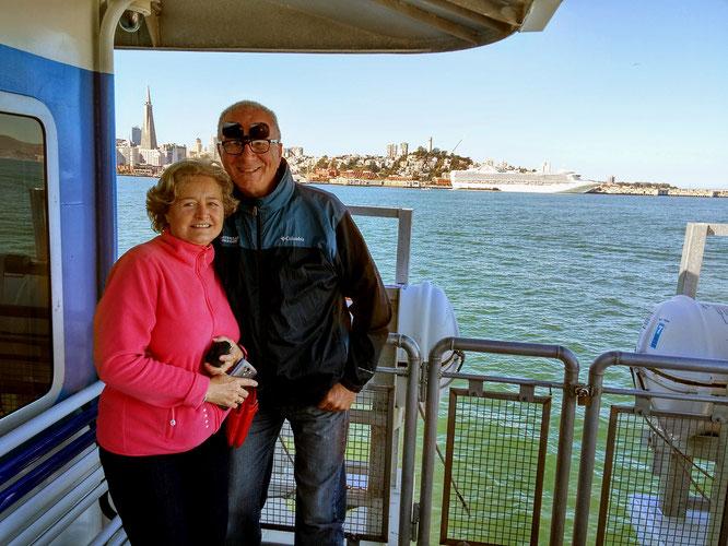 Unser Tipp: In Vallejo wohnen und mit der Bay Ferry rüber nach San Francisco.