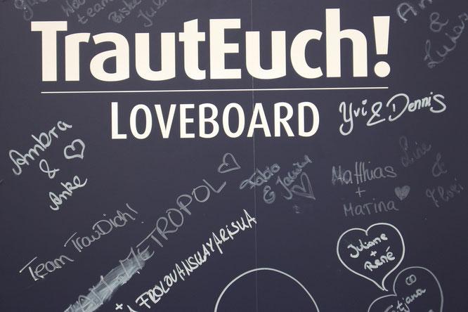 Bild: Blogpost zur TrauDich! Messe Düsseldorf, gefunden auf Partystories.de