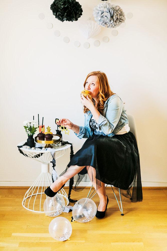 Bild: Bloggerin Steffie Vennemann (geb. Kohls) zeigt auf www.partystories.de viele DIY Ideen für Partydeko, Geschenke und Rezepte für Partyfood und Drinks