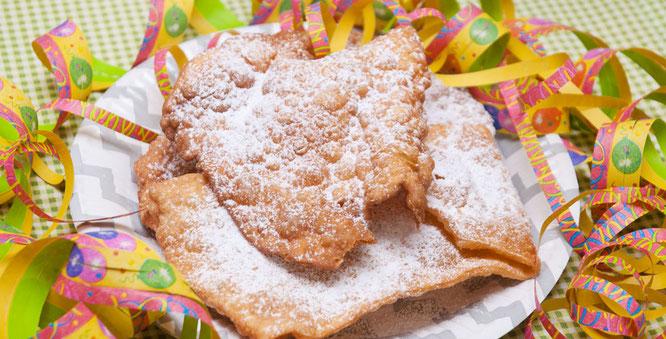Bild: Badische Scherben, ein Rezept für Karneval Partyfood von Bloggerin Lisa (draufgeklatscht.de) auf Partystories.de