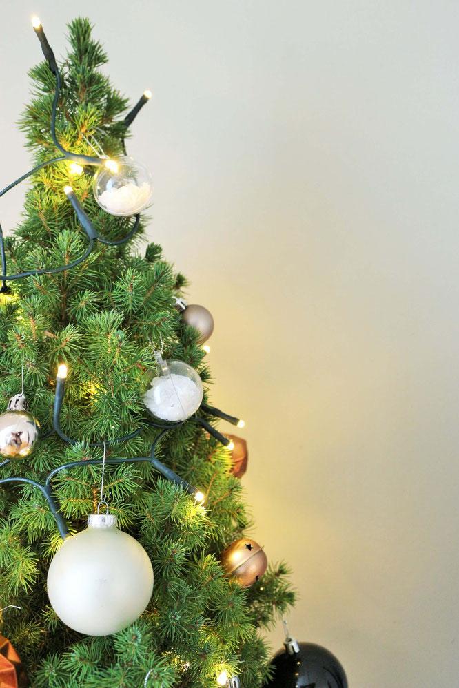 acrylglas kugeln weihnachtlich gestalten partystories blog. Black Bedroom Furniture Sets. Home Design Ideas