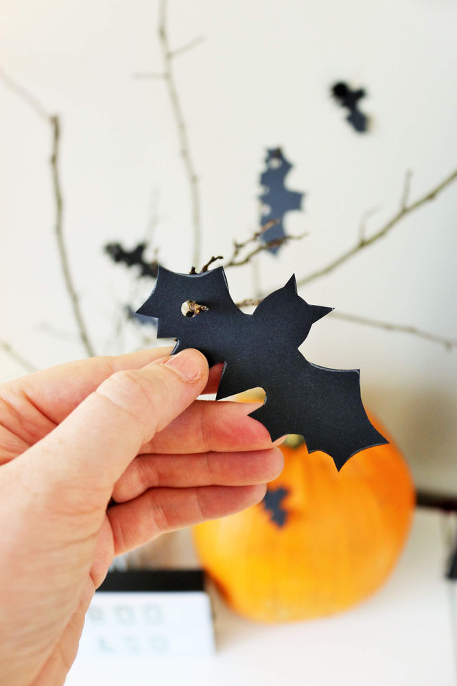 Diy Halloween Fledermaus Deko Partystories Blog