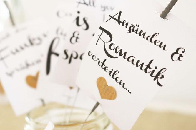 Bild: Vorlage für Wunderkerzen Anhänger als Freebie Vorlage für die Hochzeit oder zum Verschenken; gefunden auf www.Partystories.de