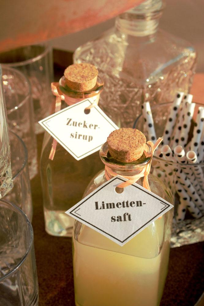 Bild: Ideen und Tipps für eine Whisky Bar oder Gentlemen Bar für die Party, den Geburtstag oder die Hochzeit - gefunden auf www.partystories.de