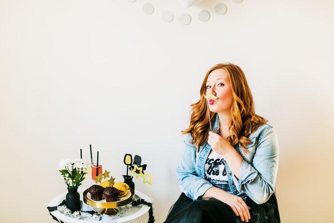Bild: Bloggerin Stephanie Vennemann (geb. Kohls) zeigt auf dem DIY Deko und Partystyling Blog www.partystories.de viele DIY Ideen für Partydeko, Geschenke und Rezepte für Partyfood und Drinks