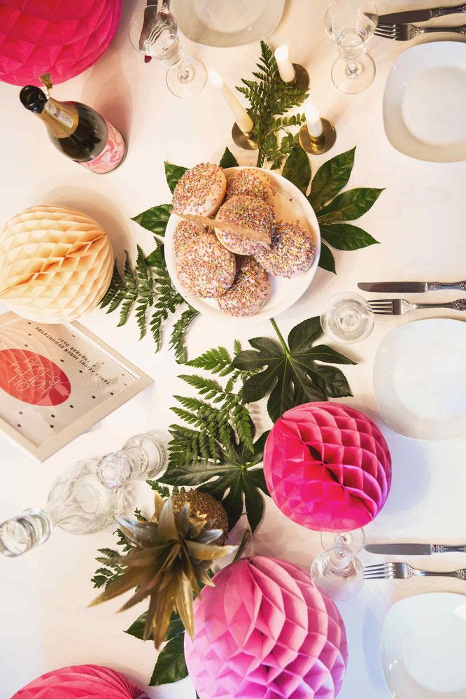 Bild: Last-minute Partydeko und Ideen zum selber machen - Tabea Werner (kleineFestschmiede.de) verrät Dir im Interview auf Partystories viele Tipps und Tricks für schnelle Deko, Rezepte und worauf Du achten solltest! #EinfachFeiern