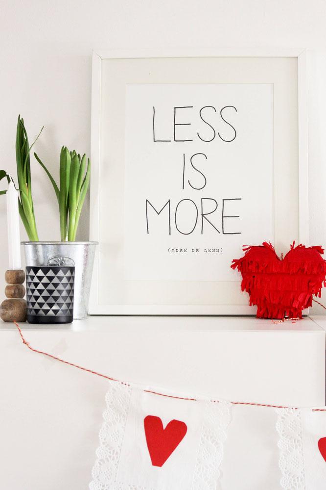 girlanden selber machen 3 ideen mit herz partystories blog. Black Bedroom Furniture Sets. Home Design Ideas