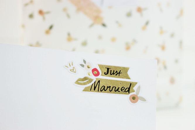 Bild: DIY Brautkalender- finde Ideen für einen Braut Countdown Kalender als Geschenk zum selber machen, mit Tipps zum Befüllen und Verpackungsideen // gefunden auf www.partystories.de // #diyHochzeit #Brautkalender #geschenkidee #ricodesign