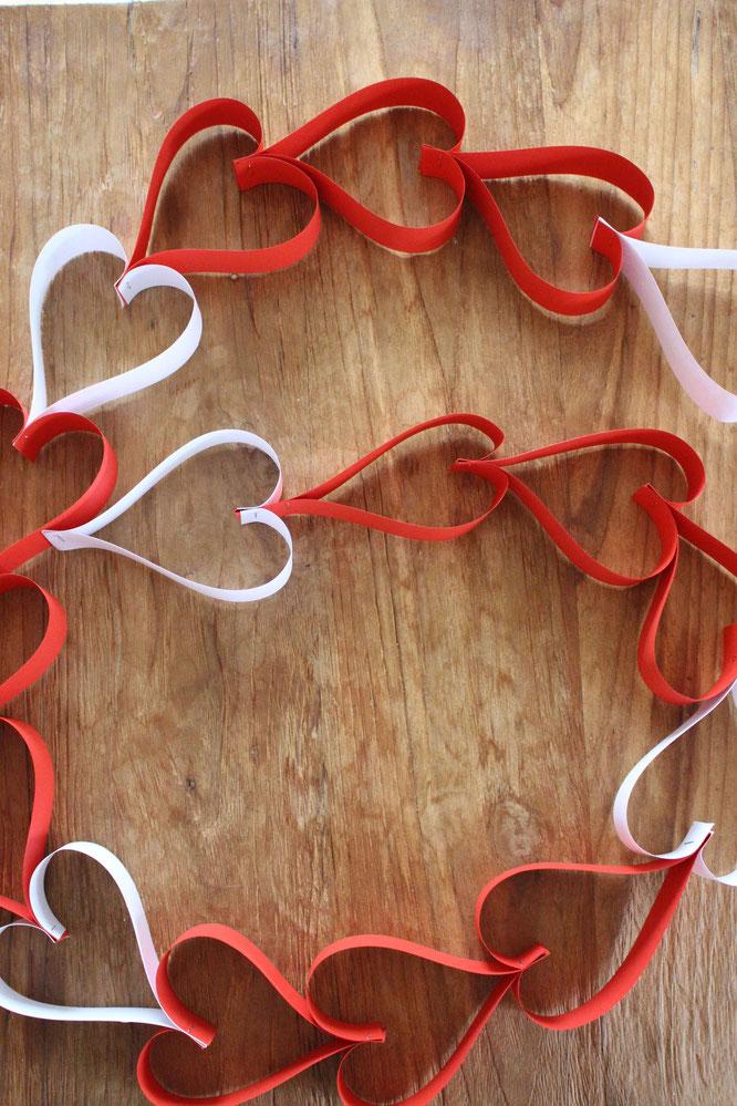 Girlanden Selber Machen 3 Ideen Mit Herz Partystories Blog
