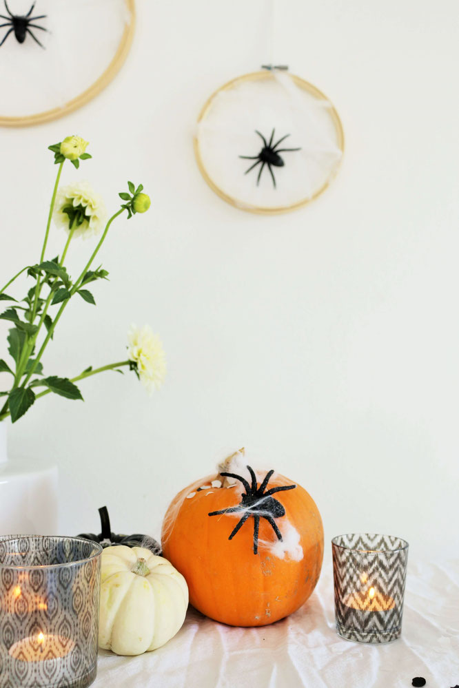 Diy Halloween Party Deko Als Spinnennetz Partystories Blog