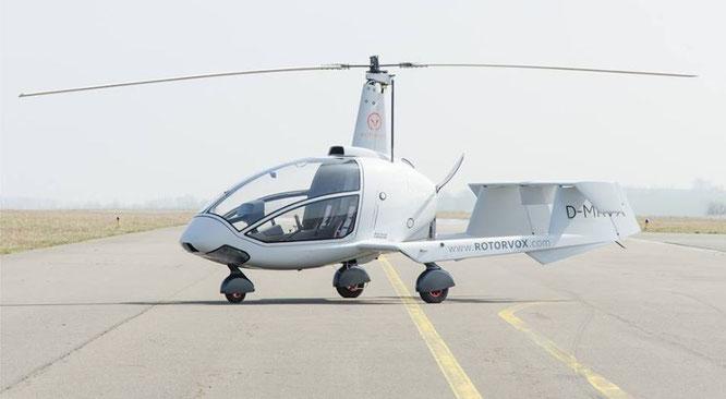 Gyrocopter der Oberklasse