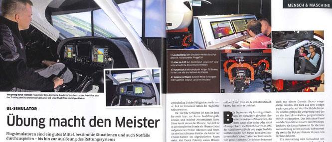 flieger magazin 08.2016 S. 84-85