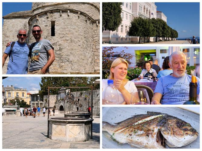 Zadar ist eine wunderschöne Stadt, direkt am Wasser mit hervorragender Küche!