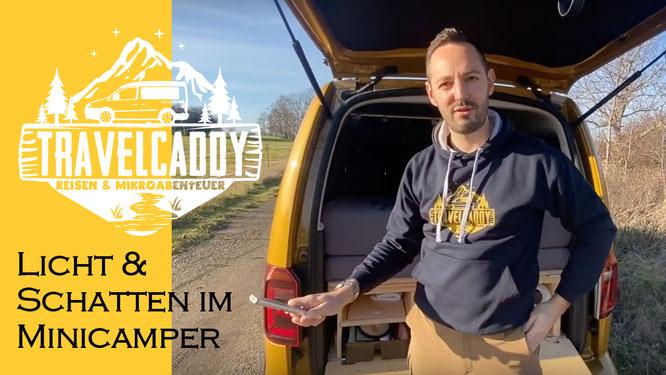 Video: Beleuchtung & Verdunklung im Caddy