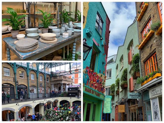 London Covent Garden und der bezaubernde Markt (Link gesetzt)