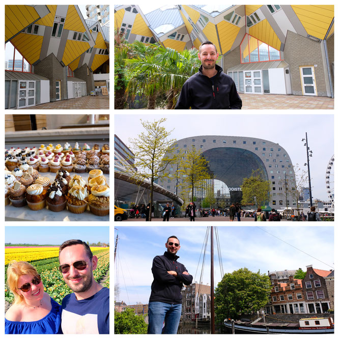 Rotterdam, Kubushäuser und die Foodhalle