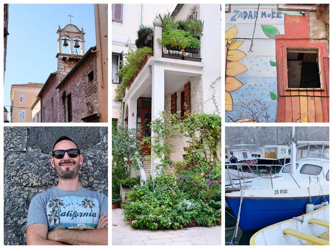 Zadar ist bunt, relaxed und hip zugleich. Aber schön leer im September!