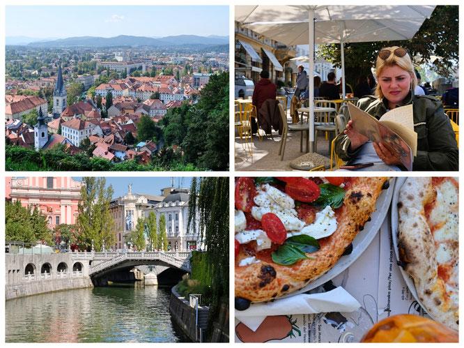 Ljubljana ist wirklich sehr schön! Überall gibt es klasse Restaurants und sehr guten Kaffee!