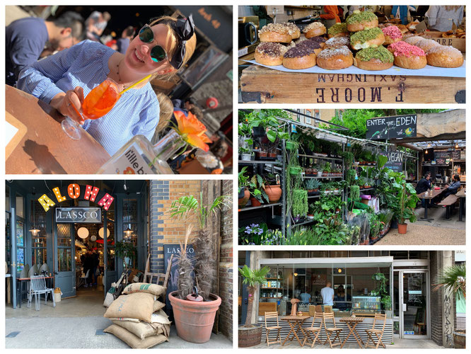 Der Maltby Street Market, leckerer Aperol-Spritz und tolle Eindrücke