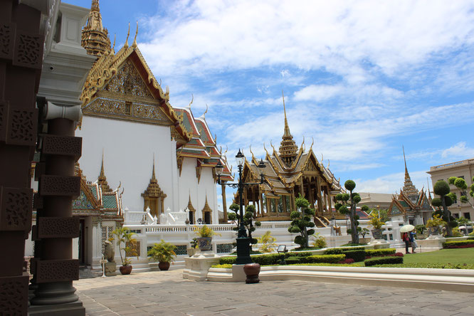 Sabbatical-Königspalast-Thailand