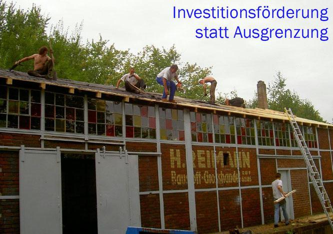 Die »Halle-am-Rhein« wird auf Vordermann gebracht. (2007)