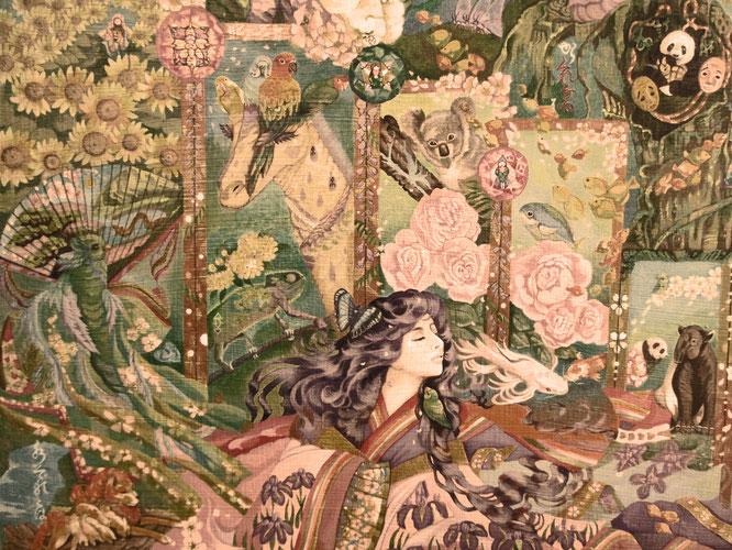 Beautiful harmony ~   Magnifique harmonie   美術展覧展 ダ・ヴィンチとの邂逅クロ・リュセ城(フランス・ロワール)レオナルド・ダ・ヴィンチ・パーク内 10月開催予定                                      yukiTachibana     絵画