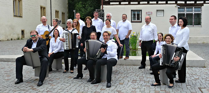 Das 1. Orchester der HSG Oberboihingen
